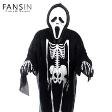 Fansin Brand Halloween Costume Party Children Clothing Skeletons Ghosts Cosplay Clothing Show Fancy Dress Horror Family Clothes