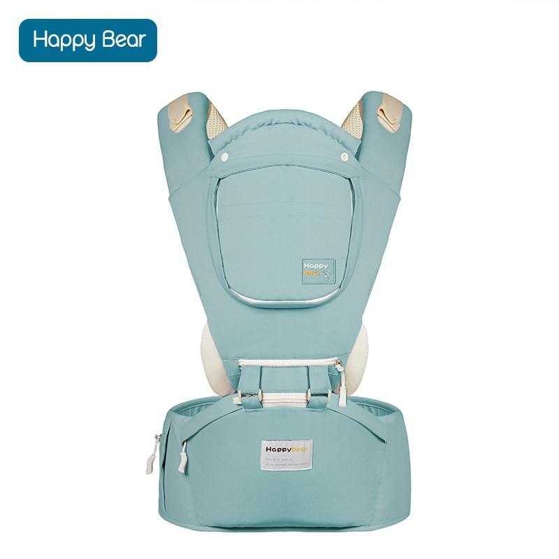 HappyBear Baby Carrier Hip Seat Чистый хлопок - Детская активность и снаряжение