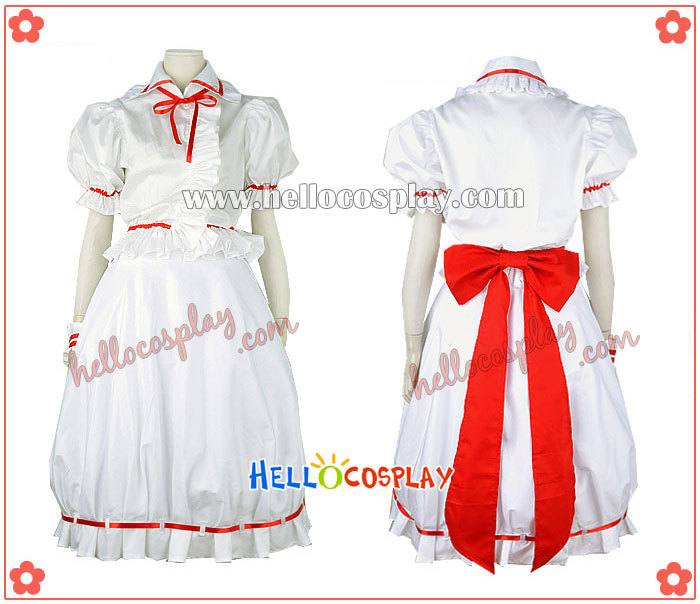 Japanese Anime Outfit Touhou Project Cosplay Remilia Scarlet Costume H008
