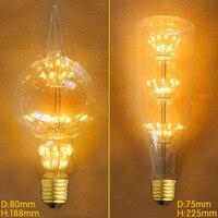 LED G80 E27 3W 220V Lampade Retro Edison Bulb Lamp Light Bombillas Vintage Industrial Incandescent Bulb