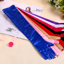 Long-Finger-Gloves Driving Bridesmaid Pricecess New 53cm 5pc/Lot Dancing Party Sex Evening