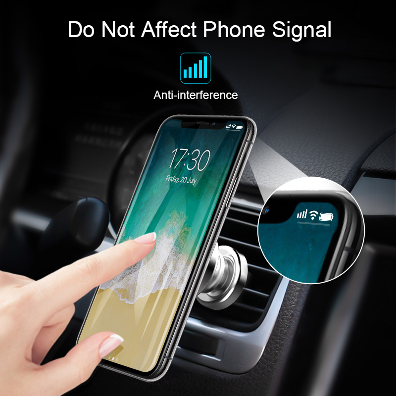 MEIDI Metal Soporte magnético para teléfono de coche Soporte de - Accesorios de interior de coche - foto 3