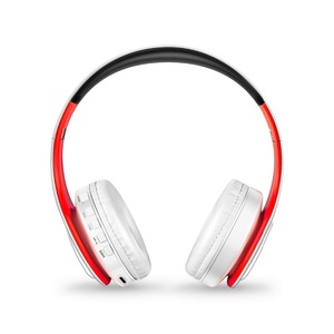 Image 2 - أفضل سماعات لاسلكية سماعات مع ميكروفون ستيريو رقمي سماعة رأس بخاصية البلوتوث بطاقة مشغل MP3 راديو FM موسيقى للجميع
