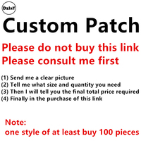 (DzIxY) Custom parches Embroidered Iron on Designs Patches