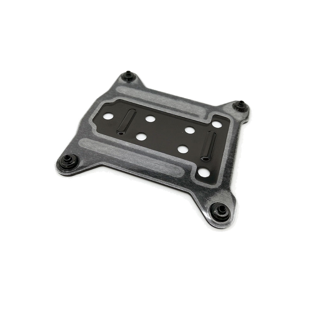 Free Shipping  LGAL 115X 1150/1155/1156 PC Metal Backplate CPU Water Cooler Bracket I3 I5 I7 Cooling Radiators Backplane 75x75mm