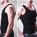 Tank Top Sleeveless Bodybuilding Stringer Solid Color Men's Singlets Muscle Clothes Plus Size Vest