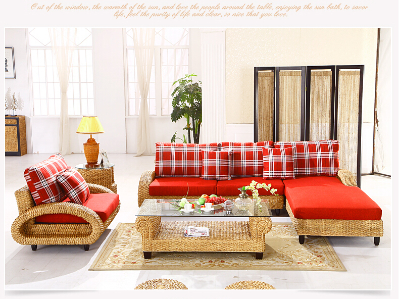 online kaufen gro handel rattan sofa aus china rattan sofa gro h ndler. Black Bedroom Furniture Sets. Home Design Ideas