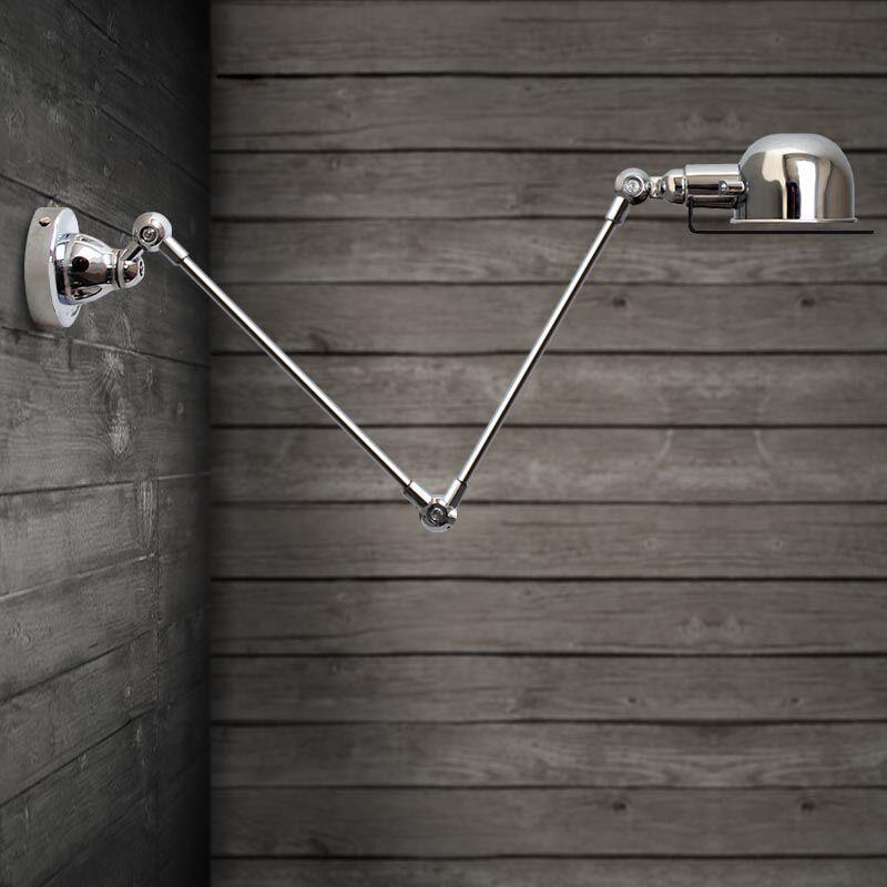 Image 5 - RH loft روبوت الذراع الجدار مصباح Jielde الجدار ضوء تذكرنا قابل للسحب ذراع ميكانيكية مصباح خمر ، مع التبديل E14 AC110 240V-في مصابيح الحائط من مصابيح وإضاءات على AliExpress
