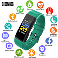 BIBINBIBI Модные женские и мужские смарт-часы Детские пульсометр кровяное давление фитнес-трекер умные часы для ios android