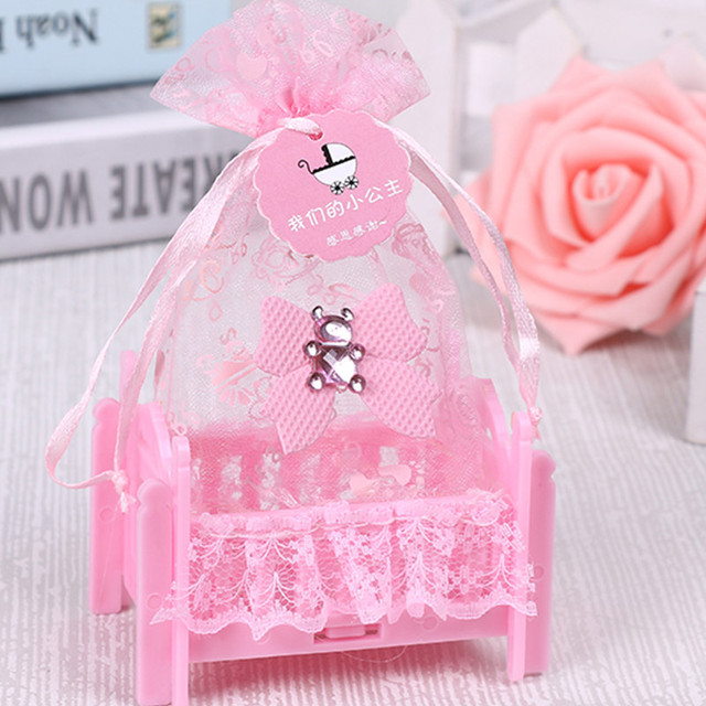 Birthday Baby Shower Candy Box Wedding Party Supplies Personalized Creative Cradle Type Gift Bag