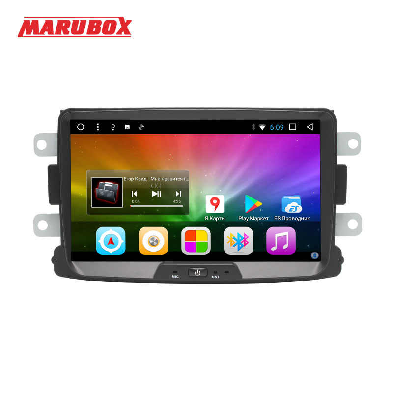 MARUBOX 1Din 8.1 Android Para Renault Duster 2010-2015, Logan, sandero GPS Navi Radio Stereo Car Multimedia Player 8A609DT8