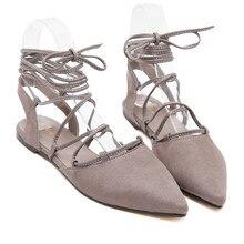 2016 Summer Women Flat Shoes Soft Leisure Flats Gladiator Flat Sandals Woman