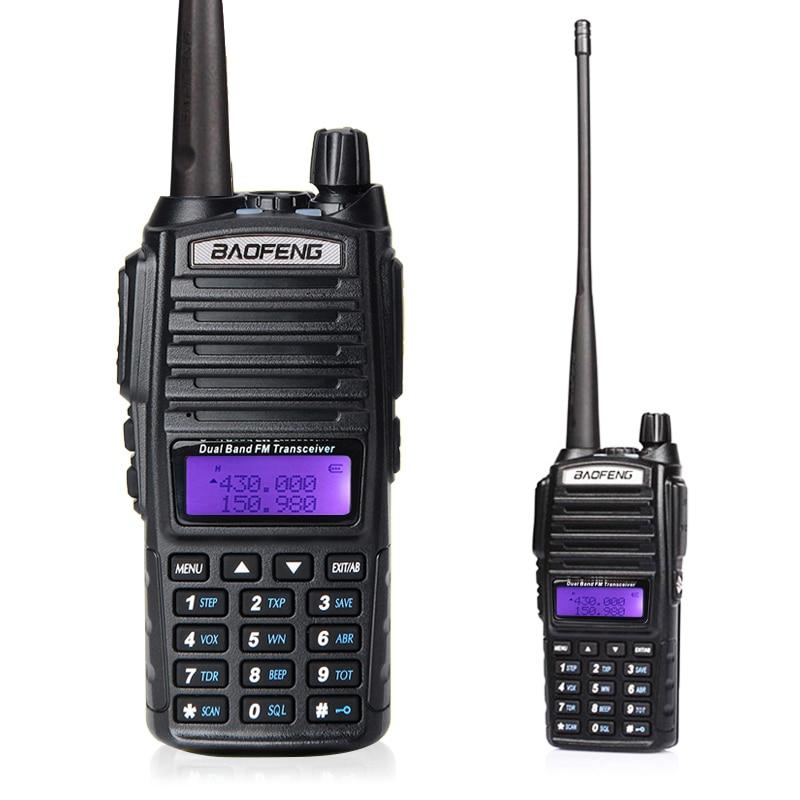 Радыё Баофэн УФ-82 радыёстанцыя уоки 136-174 / 400-520 МГц УКХ мабільнай радыёсувязі Telsiz радыёаматар РТТ Baofeng uv82 прыёмаперадатчык UV 82