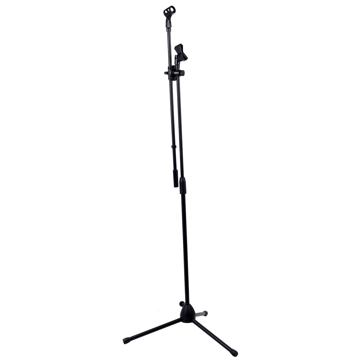 New High Quality Professional Boom Microphone Mic Stand Holder Adjustable & 2 Clips
