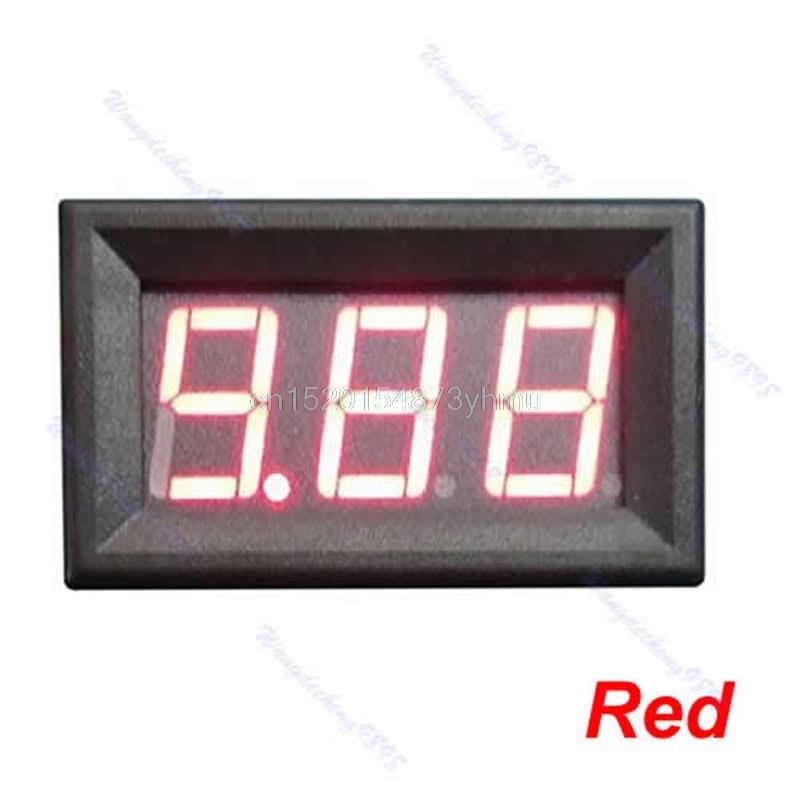 صفحه نمایش اندازه گیری 3 آمپر دیجیتال DC0-10A Ampere Ampere LED بدون نمایشگر نیازی به Shunt Ammeter - L057 جدید داغ