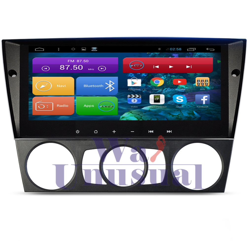 8 8 inch quad core android 6 0 auto gps navigation with bt 3g tv wifi mirror link for bmw e90 manual air conditional 2005 2012