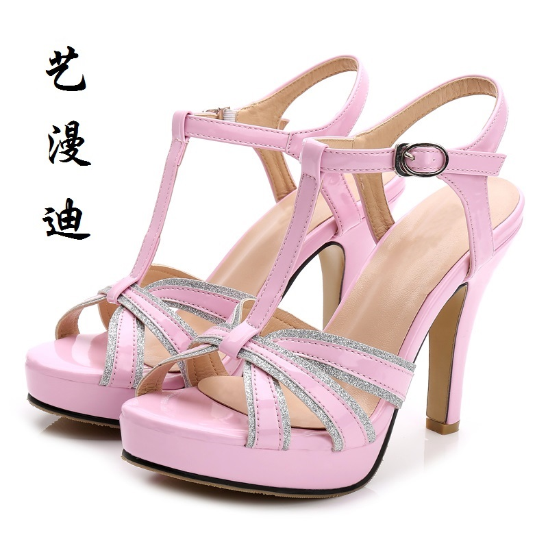 2017 Small Size 31-43 Fashion Sexy Women Sandals High Heels Ladies Pumps Shoes Woman Summer Style Chaussure Femme Talon 32 33 lloprost ke 2017 summer new style fashion sandals of woman ladies shoes on heels big size 32 45 three color woman sandals lyf015