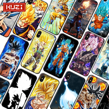 KUZI Dragon Ball Print Soft Case for Iphone X XS MAX XR 6 6s 7 8 Plus TPU SiliconeCover Anti-fall Cover