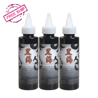 Import 3 Bottled Black Color Set Tattoo Pigments Tattoo Ink Supplies