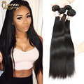 7a Brazilian Straight Hair 3 Bundles Unprocessed Brazilian Virgin Hair Straight Cheap Human Hair Weave Brizilian virgin hair