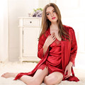 Sale Robe Gown Sets Sexy Lace Lingerie Set Women's Sleepwear 2 Pieces Sleep Suits Pajama Sets Womens Nightwear Night Skirts 7405