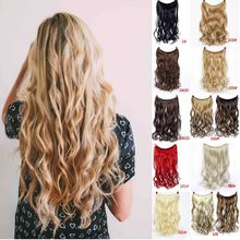 MUMUPI Women Secret Adjustable Wire Human Hair Extensions No Clips Can Dyed Washed Curled Straightened Easy Take on/off Headwear(China)