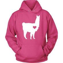 Hug your Alpaca hoodie / Lama hoody / Alpaca Lover / Lama Pacos gift / alpaca gift / Lama clothing / barn birthday party-Z206 print bar hipster lama