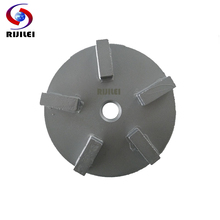 RIJILEI 24*8*8mm*5T Diamond Cup Wheel Concrete Grinding Disc for Level Uneven Surface Metal Polishing Pads U70