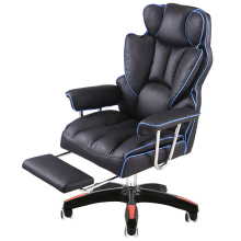 Luxurious Thickening Boss Chair Reclining Comfortable Massage Chair Seat with Footrest Lifted Swivel Office Chair Gaming Chair modern adjustable swivel salon massage spa seat tattoo medical chair stool leather seat and back massage swivel chair furniture