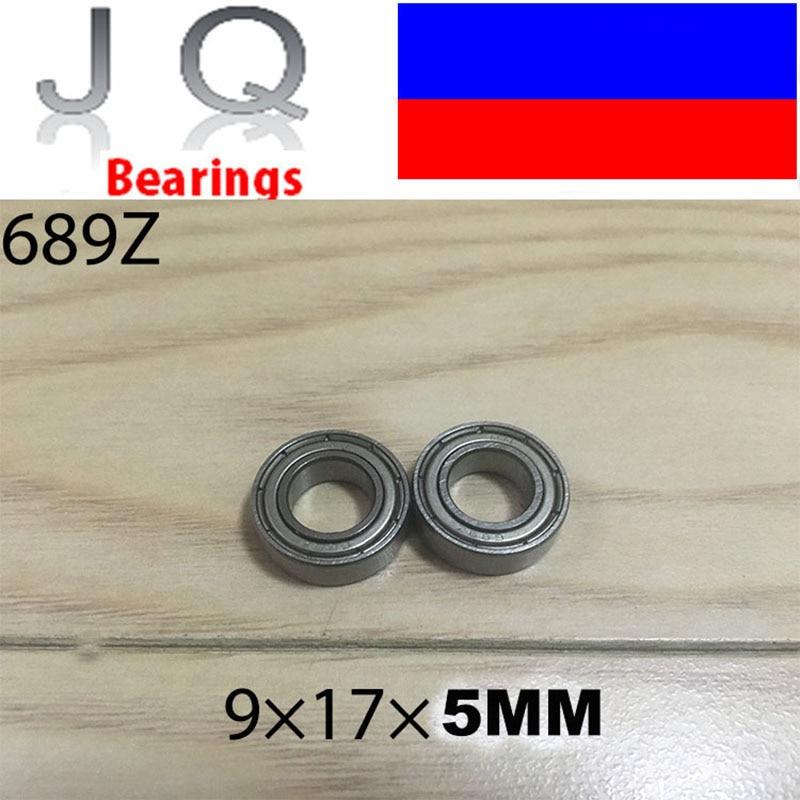 JQ Bearings 10pcs Free Shipping 689Z Thin wall deep groove ball bearings 689 689ZZ 9*17*5 mm gcr15 6326 zz or 6326 2rs 130x280x58mm high precision deep groove ball bearings abec 1 p0