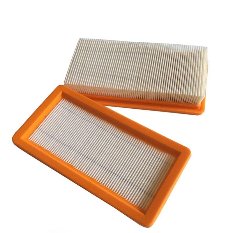 2pcs Washable Karcher Filter For DS5500,DS6000,DS5600,DS5800 Robot Vacuum Cleaner Parts Karcher 6.414-631.0 Hepa Filters