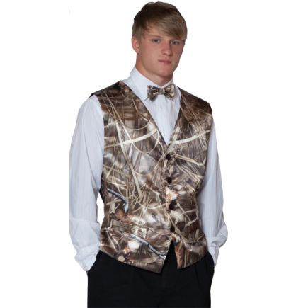 Weddings & Events Supply Realtree White Camo Prom Vest Man Camouflage Vests For Wedding Plus Size Custom Make Free Shipping Vests