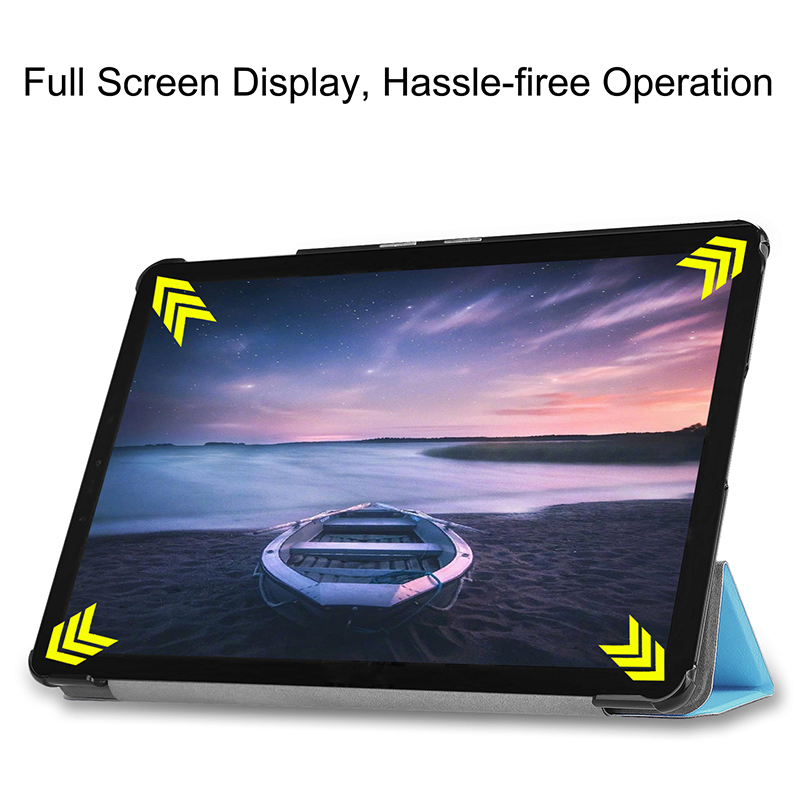 Case Cover For Huawei Mediapad T3 10 Inch Tablet Leather Smart Magnetic Stand Case For 9.6 Inch Honor Play Pad 2 AGS-W09 AGS-L09
