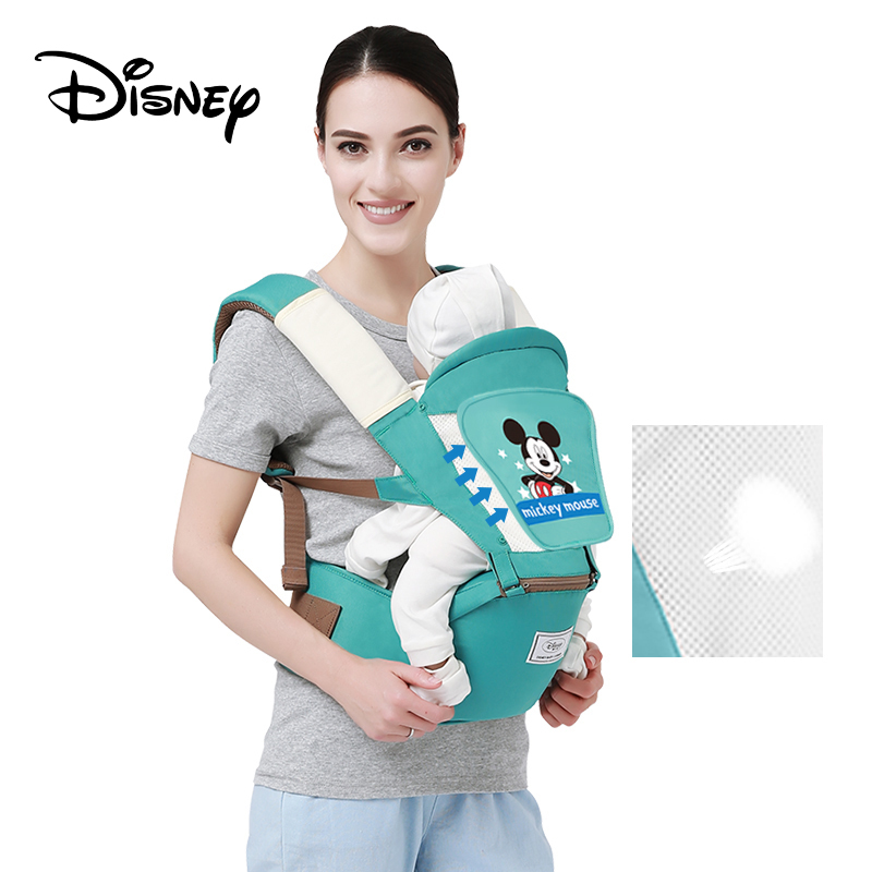 Disney Baby Carrier Ergonomic Toddler Backpack Hipseat For Newborn Baby Kangaroos Breathable Front Facing Carriers Mickey Minnie