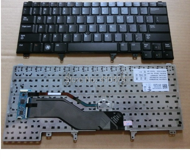 US Laptop Keyboard for DELL Latitude E5420 E6420 E6220 E6320 E6330