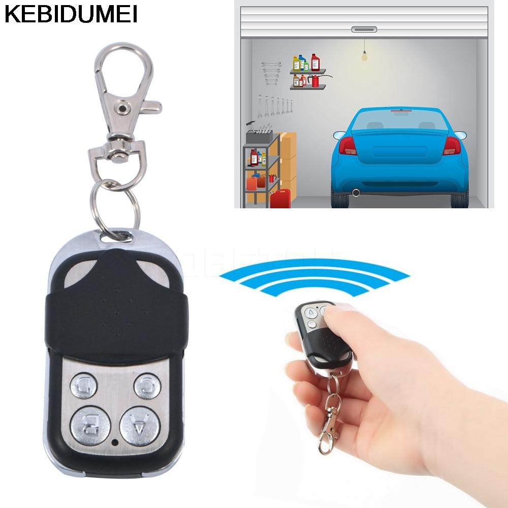Gate Garage Door Remote Wireless Control Keychain Electric Switch Universal