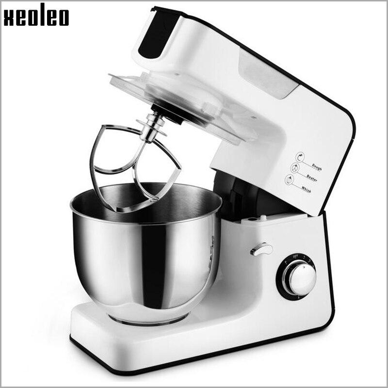 Xeoleo 5.5L Stand mixer Food mixer 1000W Dough kneading machine husehold Dough mixer Egg beater Food blender milk shaker