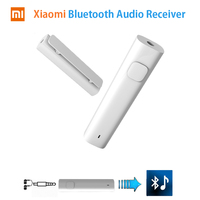Original Xiaomi Bluetooth Audio Receiver Light Battery Inside For Wired Earphone Device With AUX Type C