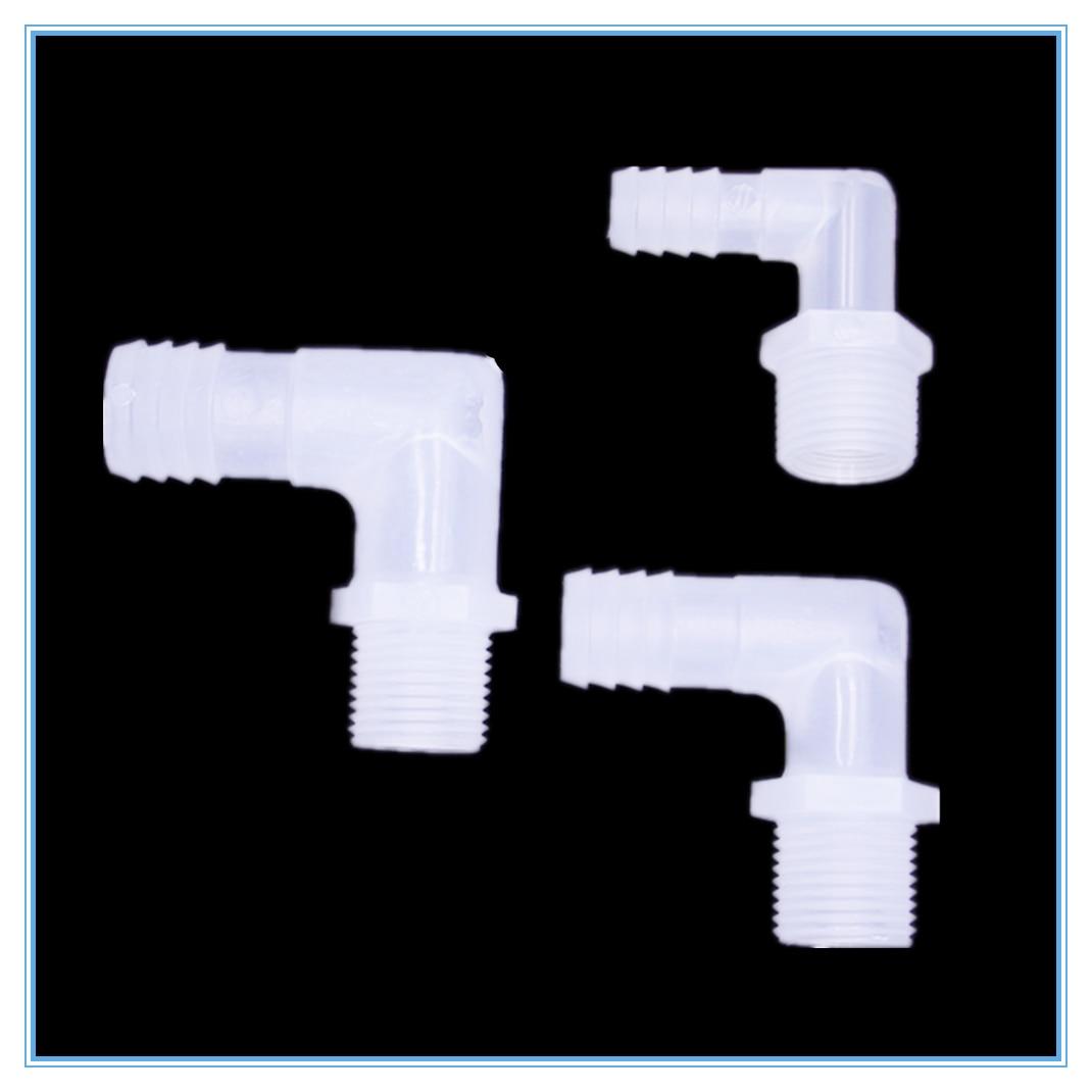 Rohre & Armaturen EntrüCkung 1/8 1/4 3/8 1/2 3/4 Außengewinde äußeren Zahn Pagoden Ellenbogen Außerhalb Der Turm Biegeschlauch Kunststoff-fittings Zur Verbesserung Der Durchblutung