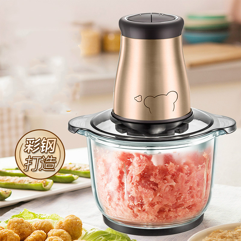 Meat Grinders' grinder USES an electric stainless steel to churn the minced dumplings. meat grinders grinder uses an electric stainless steel to churn the minced dumplings new