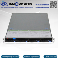 1U 4hotswap Storage Server Chassis Customzied Server Barebone X15504