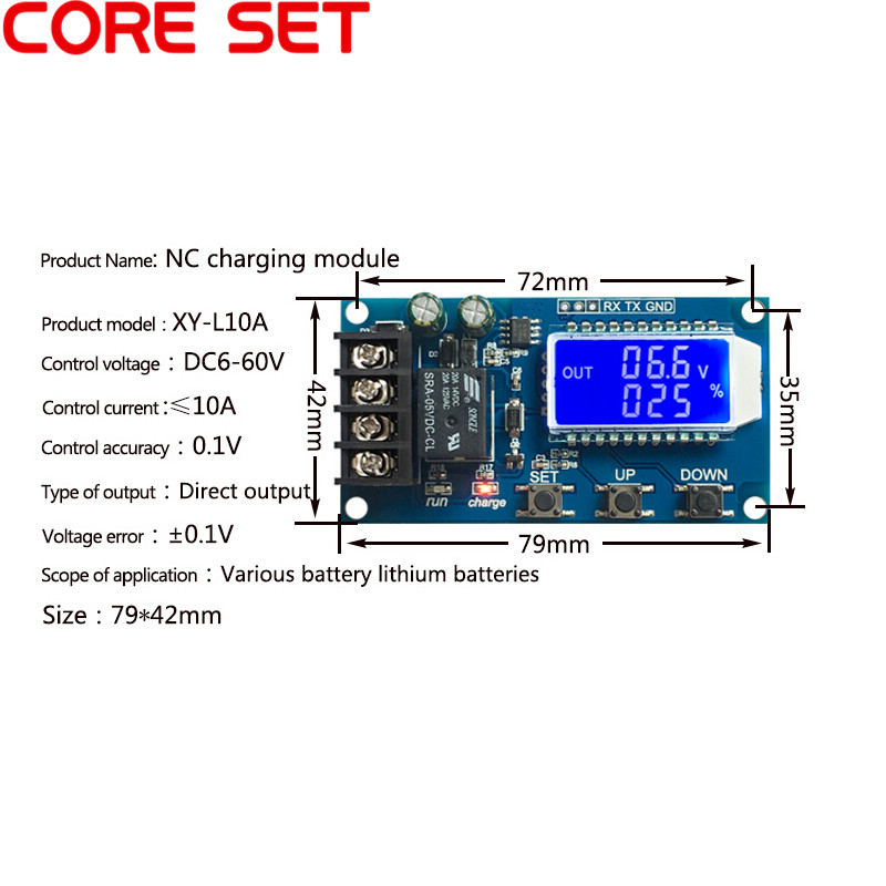 10A Lead-acid Solar Battery Charge Controller