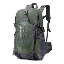 Mochila militar del ejército de Caballero libre, morral de 40L, mochila de senderismo, bolsa de deporte para hombre, mochila para montañismo, trekking, camping