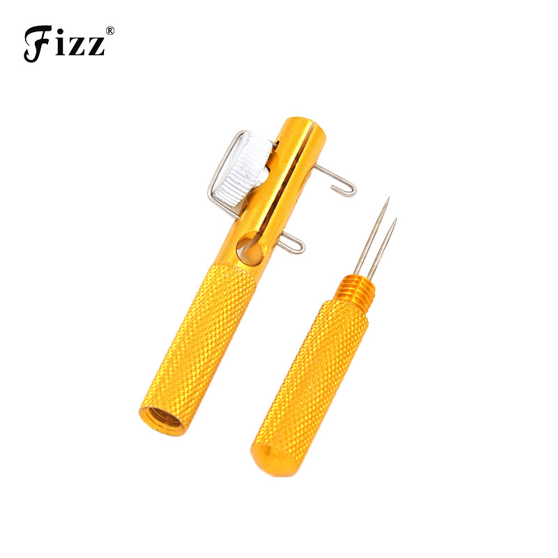 Full Metal Fishing Hook Knotting Tool & Tie Hook Loop Making Enhet & Krokar Avkoppling Remover Carp Fiske Tillbehör Verktyg