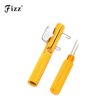 Full Metal Fishing Hook Knotting Tool & Tie Loop Making Device Hooks Decoupling Remover Carp Accessories