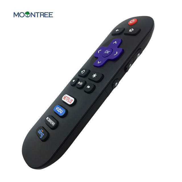 US $8 35 35% OFF|Universal TV Remote Control Replacement for TCL ROKU TV  RC280 55S405 40S3800 with Shortcut Netflix Vudu CBS Sling Button-in Remote