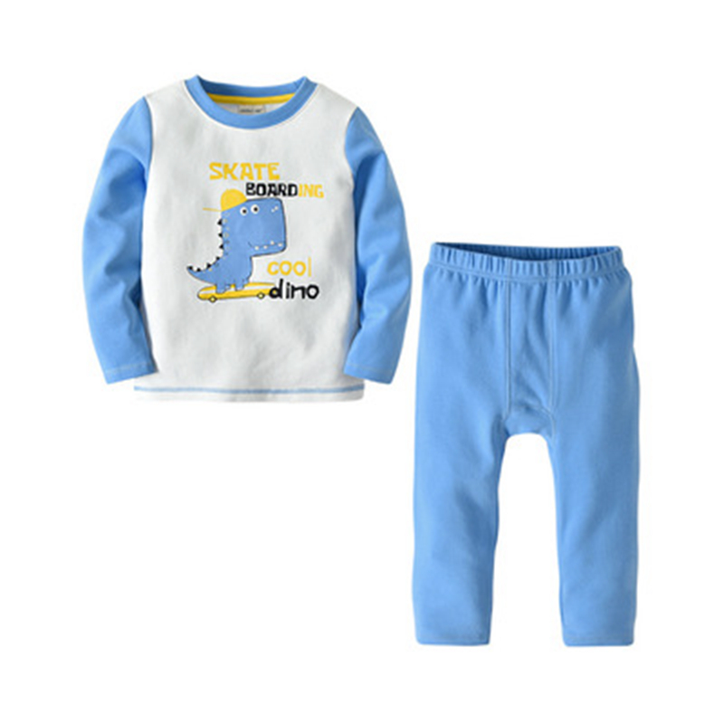 BAOZIWO 2019 New Spring and Autumn Children Long Sleeved Suit  Cotton Set Boys Long Sleeve 2Pieces Suit Kid Children Set BAOZIWO 2019 New Spring and Autumn Children Long Sleeved Suit  Cotton Set Boys Long Sleeve 2Pieces Suit Kid Children Set