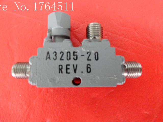 [BELLA] The Supply Of RF And Microwave Directional Coupler A3205-20 4-8GHz 20dB SMA