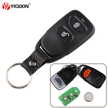 YIQIXIN For Hyundai 2+1 3 Button Tucson Santa Fe 2005-2009 Remote Control Car Key Kia Carens 433Mhz