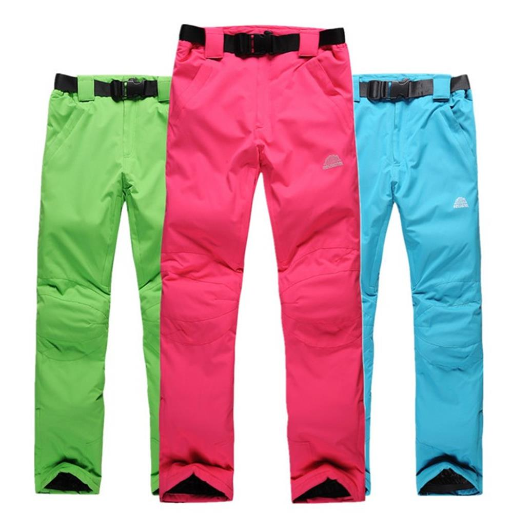 Prix pour Pantalons de ski de neige unisexe snowboard pantalon amateurs de ski pantalon avec bretelles sport pantalon imperméable et respirant de ski pantalon